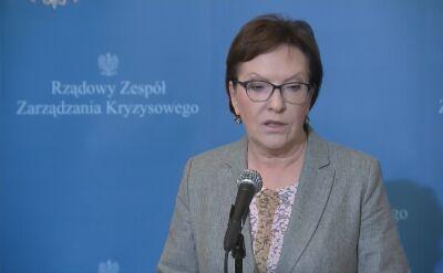 Kopacz: Polska jest bezpieczna, jesteśmy gotowi na każdy wariant