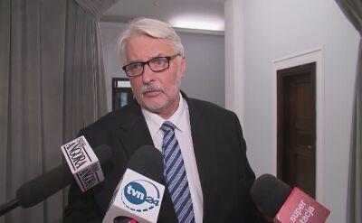 Szef MSZ: po zabiciu sześciu milionów Polaków, to jest obowiązek, żeby zadośćuczynić