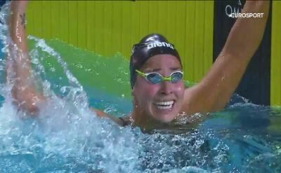 Triumf Kromowidjojo w finale 50 m stylem dowolnym w ISL w Lewisville