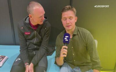 Chris Froome specjalnie dla polskiego Eurosportu