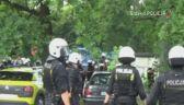Podczas zadymy przed stadionem policja użyła broni