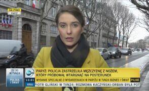 Paryż: zastrzelono domniemanego terrorystę
