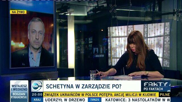 """""""Schetyna pozostanie w PO. Będzie osobą istotną"""""""