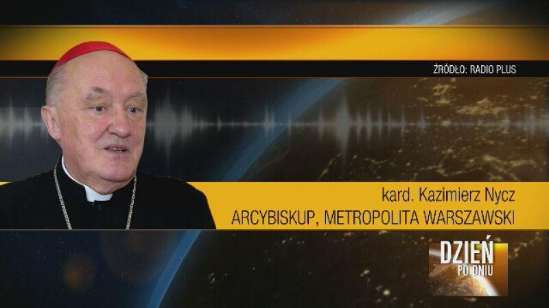 Kardynał Kazimierz Nycz: Człowiek starszy roztropnie zdecyduje, jeśli będzie jakiś czas oglądał mszę świętą w telewizji lub słuchał w radiu