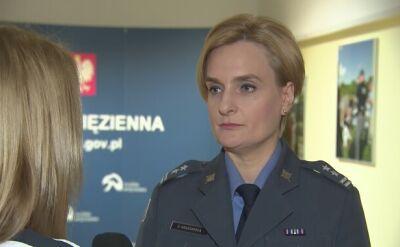 Cała rozmowa z rzeczniczką Służby Więziennej podpułkownik Elżbietą Krakowską