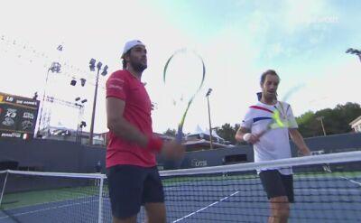 Gładkie zwycięstwo Berrettiniego z Gasquetem w Ultimate Tennis Showdown