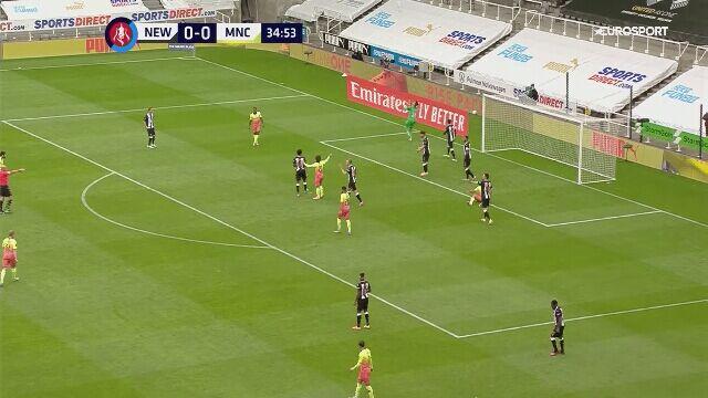 Manchester City pokonał Newcastle i zagra w półfinale Pucharu Anglii
