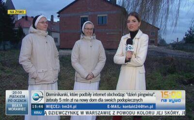 Siostry zebraly 5 mln zl