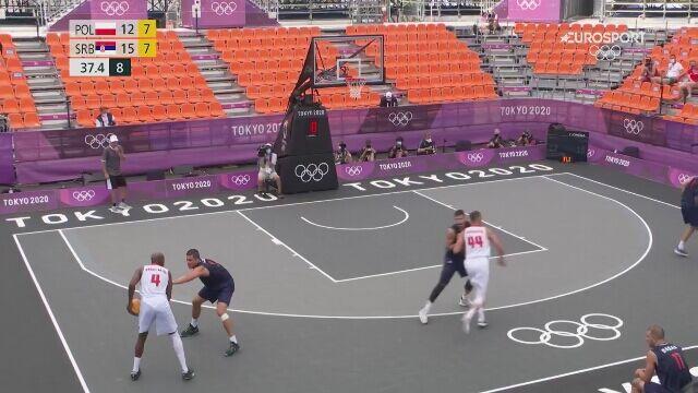 Tokio. Koszykówka 3x3: Polska przegrała z Serbią