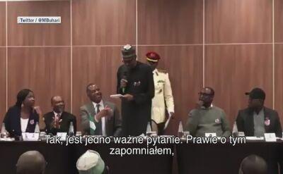 Prezydent Nigerii: to prawdziwy ja, zapewniam was