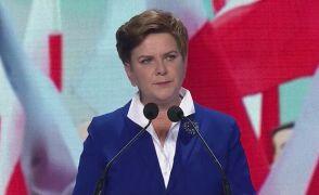 Beata Szydło przedstawiła na konwencji PiS postulaty partii.