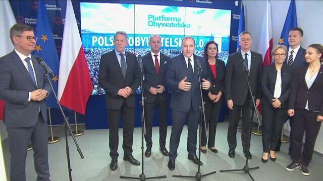 """""""Realizacja aspiracji Polaków"""". PO zapowiada nowy program"""
