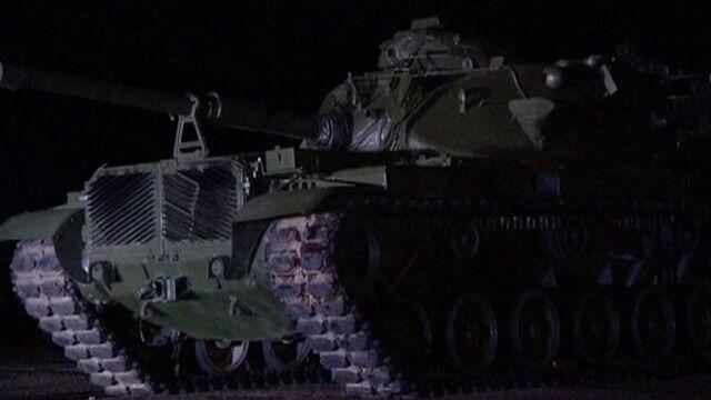 Amerykańskie czołgi w Poznaniu