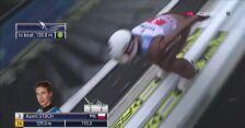 Skok Kamila Stocha w 2. serii konkursu w Garmisch-Partenkirchen