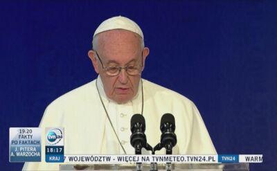Papież Franciszek o pedofilii w Kościele