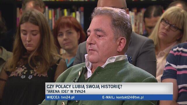 Makłowicz: historia to coś bardziej skomplikowanego niż zbiór sloganów