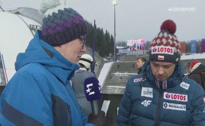 Michal Doleżal po konkursie drużynowym w Oslo
