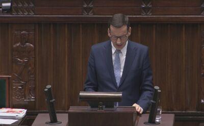 Premier odniósł się także do wyroku TSUE