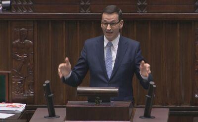 Morawiecki: wpływy z tego podatku wzrosły do prawie 50 miliardów