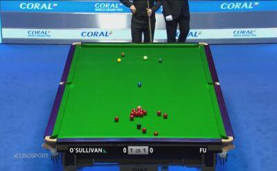 O'Sullivan pięknie wbijał, ale przegrał