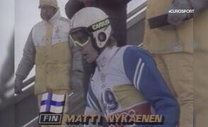 Zwycięski skok Nykaenena z igrzysk olimpijskich w Calgary