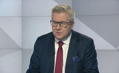 Czarnecki: Timmermans ma wizerunek tego co dzieli, a nie łączy