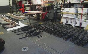 Broń przechwycona przez US Navy