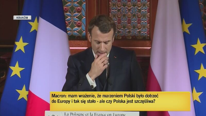 Macron: Unia to nie tylko wspólny rynek