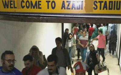 Po 40 latach Iranki kibicowały na stadionie