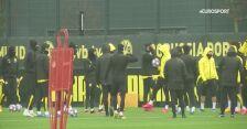 Borussia Dortmund trenuje przed meczem z PSG