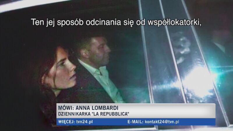 Włoska dziennikarka o Amandzie Knox