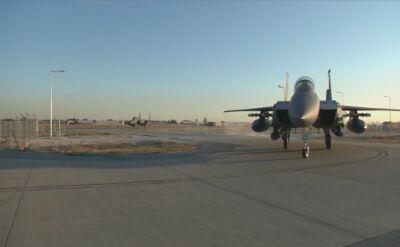 Myśliwce F-15 w tureckiej bazie lotniczej w Incirlik