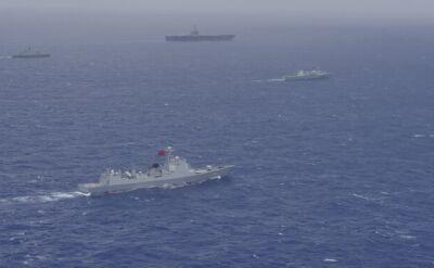 Chiny chcą zwiększać obecność militarną na Pacyfiku