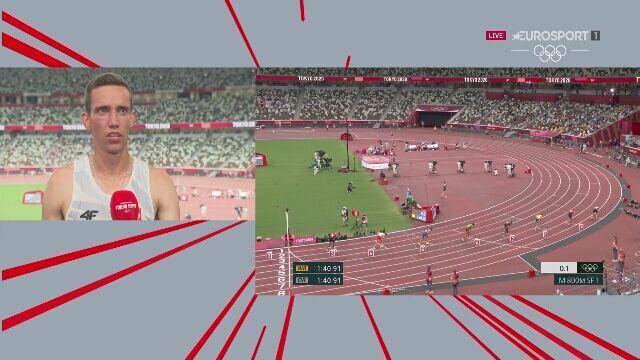 Tokio. Rozmowa z Patrykiem Dobkiem po półfinale na 800 m