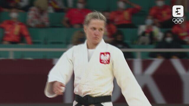 Tokio. Wygrana Agaty Ozdoby-Błach przed czasem w 1/16 finału judo do 63 kg