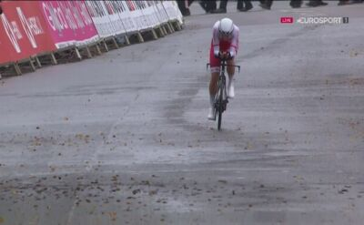 Plichta 36. w jeździe na czas w mistrzostwach świata w kolarstwie