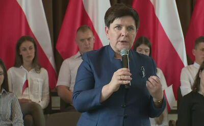 Beata Szydło o proteście osób niepełnosprawnych w Sejmie