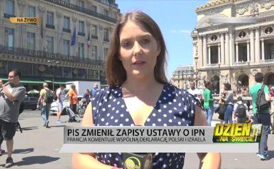 Francuskie media o nowelizacji ustawy o IPN
