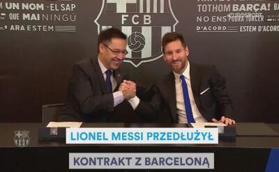 Historia związku Messiego z Barceloną