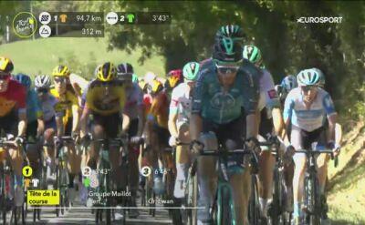Atak Thomasa De Gendta na 7. etapie Tour de France
