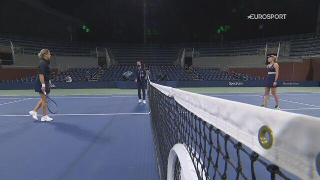 Skrót meczu 1. rundy US Open: Kim Clijsters - Jekateryna Aleksandrowa