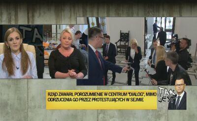 Monika Zima-Parjaszewska i Iwona Hartwich w Tak Jest