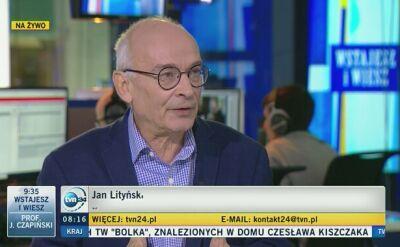 Lityński: o tym, co jest w dokumentach, historycy wiedzą od dawna