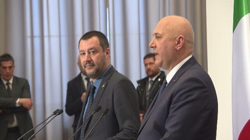 Matteo Salvini z wizytą w Polsce
