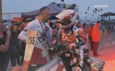 Kamil Wiśniewski przed startem Rajdu Dakar