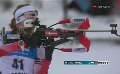 Monika Hojnisz zajęła 20. miejsce w sprincie w Oberhofie