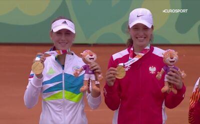 Świątek wywalczyła złoty medal młodzieżowych igrzysk olimpijskich