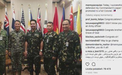 Manny Pacquiao. Pięściarz, polityk i żołnierz