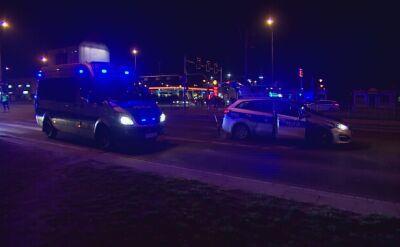 Policyjny radiowóz potrącił pieszą