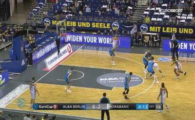 Skrót meczu Alba Berlin - MoraBanc Andorra w półfinale Pucharu Europy